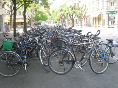 Bicycles in Switzerland